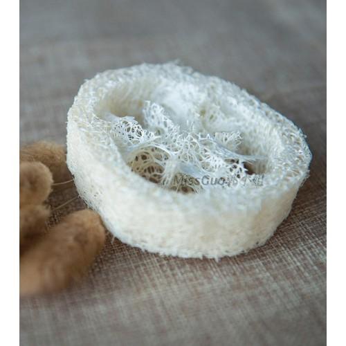lot Natural Loofah Luffa Loofa Sliceshandmade soap tools cleanner sponge scrubber facial soap