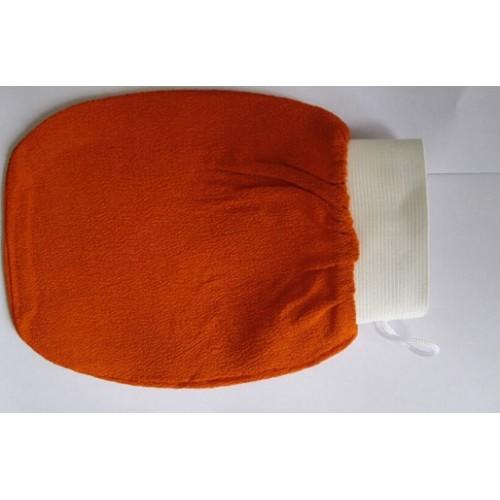 orange kessa glove turkish hammam scrub mitt exfoliating scrub mitt bath glove skin towel