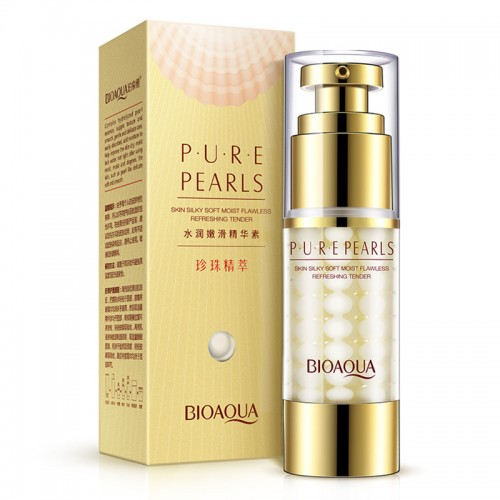 BIOAQUA Brand Pure Pearl Collagen Hyaluronic Acid Face Skin Care Moisturizing Hydrating Anti Wrinkle Anti Aging