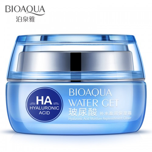 Bioaqua Hyaluronic Acid Day Creams Moisturizers Replenishment Cream Face Skin Care Whitening Skin Ha Anti Aging