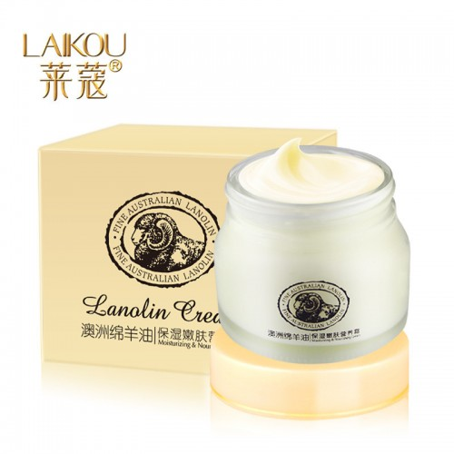 Fine Australian Lanolin Moisturizing Skin Nourishing Facial Cream For Women Female