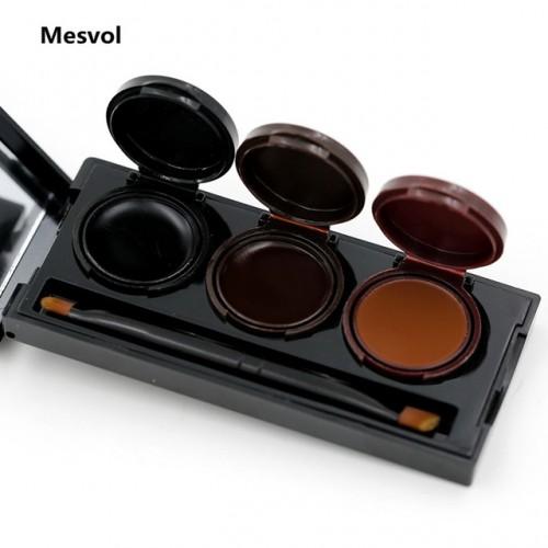 Gel Eyeliner 1 Set Glamorous Eyes Gel With mirror Waterproof Sweat Not Blooming Smudge proof