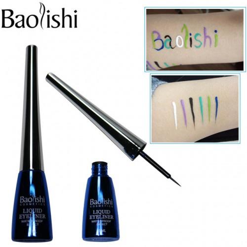 baolishi 6 color Long lasting Waterproof Liquid Eyeliner makeup pencil eye liner brand cosmetic eyeliner.