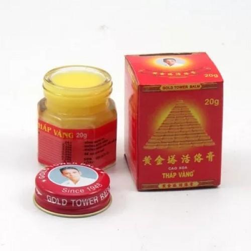 Vietnam Gold Tower balm tiger balm active cream muscle aches arthritis medicine 2pcsx20g.