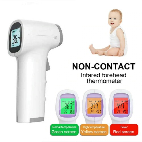 TP500 Infrared Digital Thermometer LCD IR Non-Contact Forehead Baby Adult Body Thermometer Gun Handheld