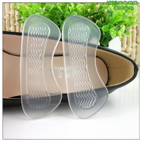 2Pcs Anti Slip High Heel Shoes Cushions Gel Heel Back liner Dance Shoes Grip Foot Pad