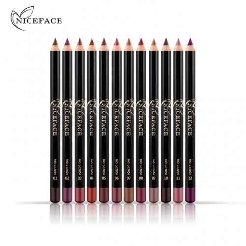12 Colors Brand Smooth Nude Color Lip Pencils Matte Lipliner Pencil Lots Waterproof Makeup Lips Matte.jpg 640x640