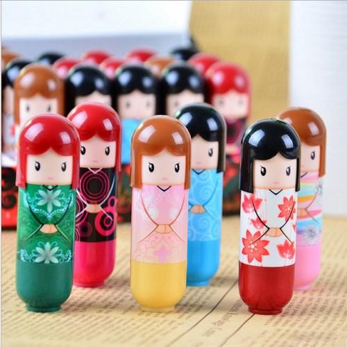 1PCS Lip Lipstick Cartoon Doll lip Balm Moisturizing Repair Lipstick Randomly Color Fruit Nature Nourishing Makeup.jpg 640x640
