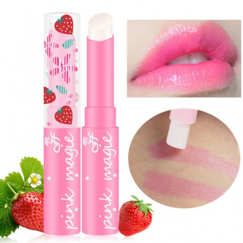 maquiagem Cute Sweet Strawberry Lip Balm Magic Temperature Changing Color Moisturizer Lips Balm Makeup.jpg 640x640