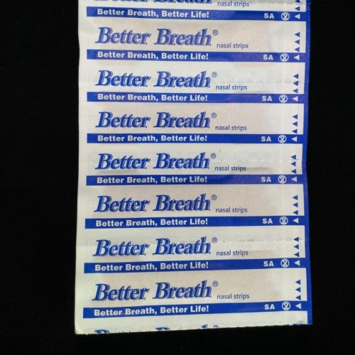 100 Pcs Lot Anti snoring Nasal Strips are better than breath right 2 size