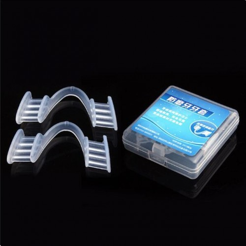 1Pair Dental Mouth Guard Prevent Night Teeth Tooth Grinding Sleep Aid Bruxism Splint help to Cultivate