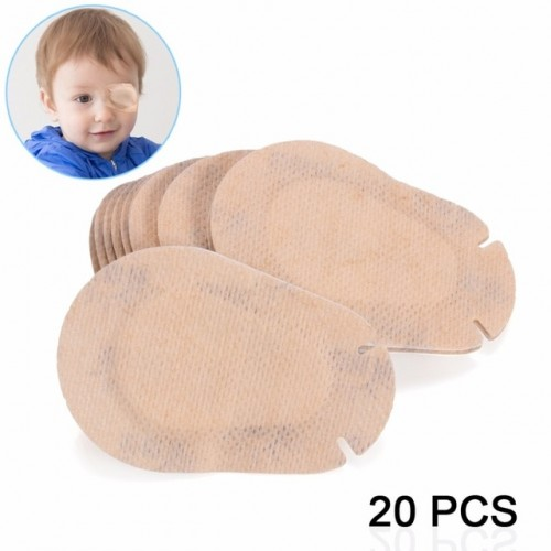 20Pcs Amblyopia Eye Patches Child Amblyopia Training Orthoptic Corrected Eyeshade Children Occlusion Medical Lazy Eye Patch