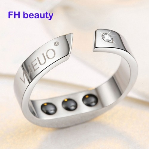 4 Sizes Anti Snore Ring Magnetic Therapy Acupressure Treatment Against Snoring Device Snore Stopper Finger Ring