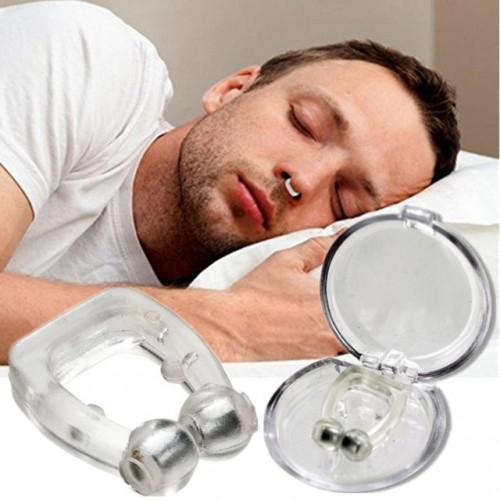 5pcs lot Anti Snoring Silicone Nose Clip Magnetic Stop Snoring Nose Clips Anti Snoring