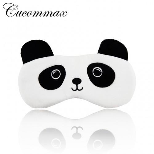 Cucommax 1 pc Panda Style Relaxing Eyeshade Sleeping Mask Black Mask Bandage on Eyes for Sleeping