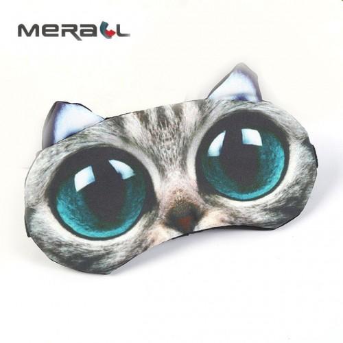 Cute Cartoon Animal Sleeping Mask Bandage On Eyes For Sleep Child Eye Cover Sleeping Mask Trave