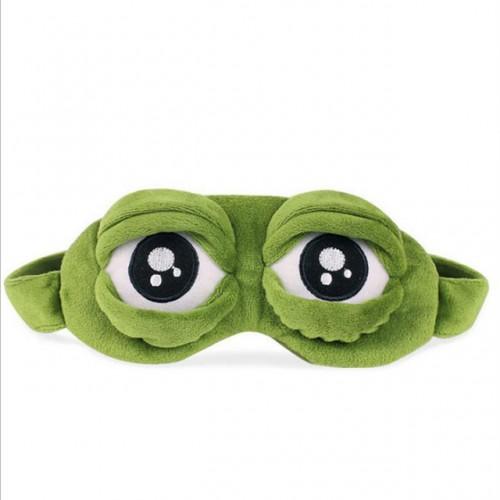 Funny 3D frog Sleeping Eye Mask Portable Travel Eye Shade Bandage on Eyes for Sleeping MR084