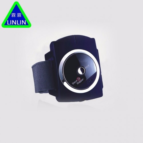 LINLIN Smart Snore Stopper Stop Snoring Biosensor Infrared Ray Detects Anti Snoring Device Wristband Watch Sleeping