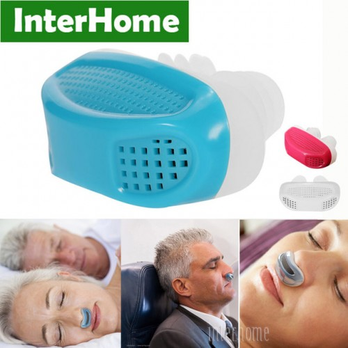 New Patent Snoring Device Anti Snore Ventilation Stuffy Nose Breathing Apparatus Nasal Congestion PM2 5 Clean