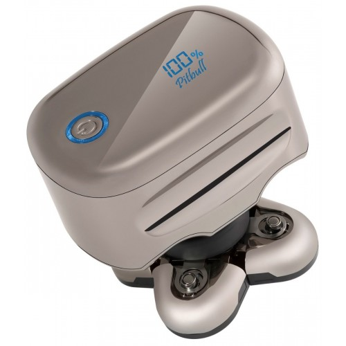 Skull Shaver Pitbull Platinum Electric Razor 5 Head 4d Cordless USB Rechargeable Rotary Shaver