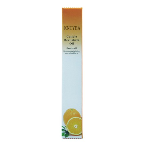 New Cuticle Revitalizer Oil Nail Art Treatment Manicure Soften Pen Tool Nail cuticle Oil pen orange