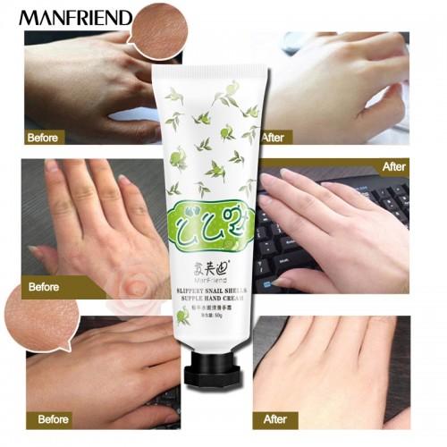Snail Serum Repair Hand Cream Nourishing Hand Care Anti Chapping Anti Aging Whitening Firming Hand Cream