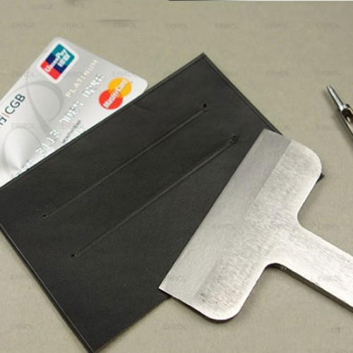 Leather craft wallet card holder stripe hand punch tool 57mm 87
