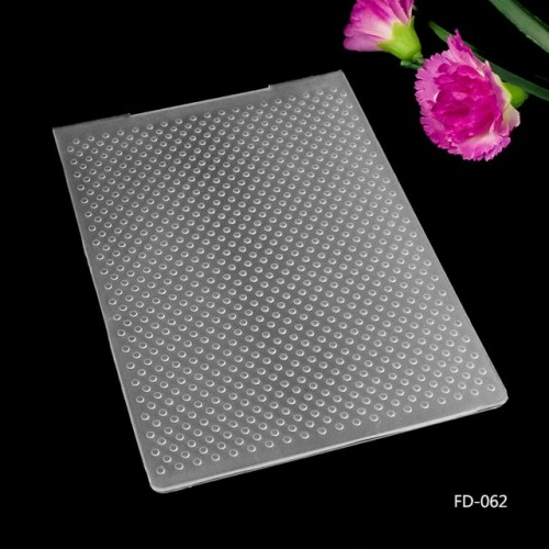 Dots Plastic Embossing Folders for DIY Scrapbooking Paper Craft Card Making Decoration Supplies