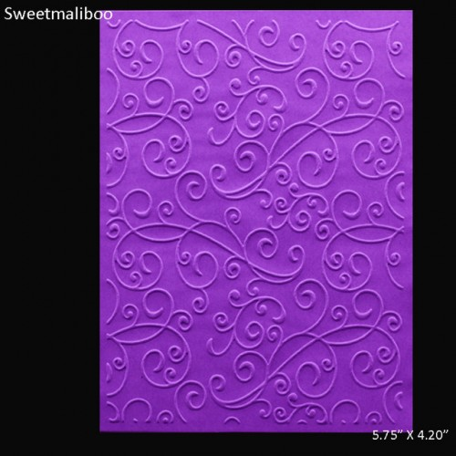 Lace Flower Embossing Folder plastic scrapbooking Craft 8embosser folders card making supplies stamps Template New