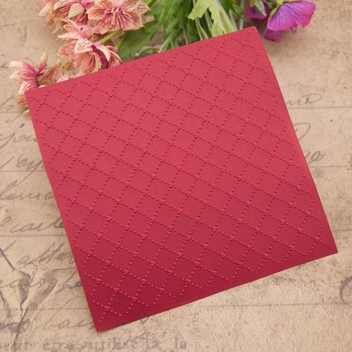 NCraft Embossing folders EM144 Plastic Embossing Folder For Scrapbooking DIY Photo Album Card