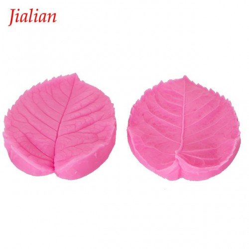 Leaf Shape Embossed fondant silicone mold kitchen baking chocolate pastry candy Clay making cupcake lace decoration