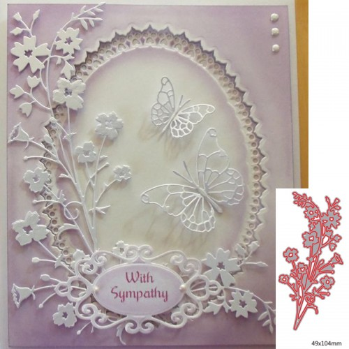Stamps Dies Scrapbooking Flower Leaves Cutting Dies Metal Craft Card Making Die Cut Embossing Easter Stencils