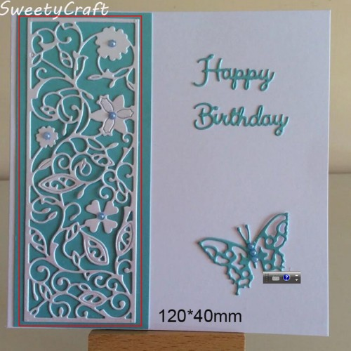 Stamps Dies Scrapbooking Flower Leaves Frame Metal Cutting Dies New Die Cut Craft Embossing Christmas