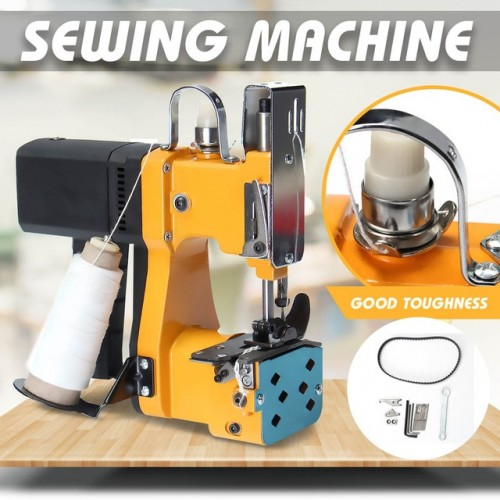 220V Portable Electric Sewing Machine Sealing Machines Kit for Home Textile Industrial Portable Bag Closer Stitching