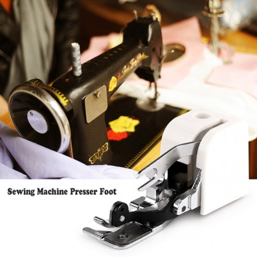 Houkiper 1Pc Household Sewing Machine Parts Side Cutter Overlock Presser Foot Press Feet For All Low
