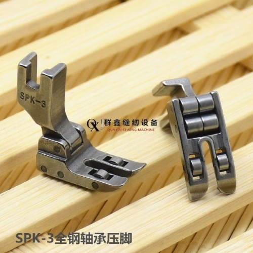 INDUSTRIAL SEWING MACHINE ROLLER FOOT High Shank PVC Leather For Singer Juki SPK 3 presser foot.