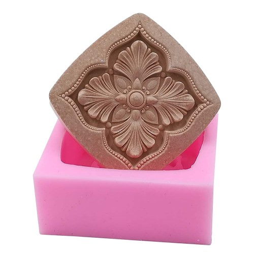 Classical Handmade Soap Mold DIY Silicone Mould For Soap Cake Molds