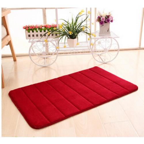 Bath Mats Set Memory Foam Rug Kit Toilet Pattern Non slip Floor Carpet Mattress for Bathroom