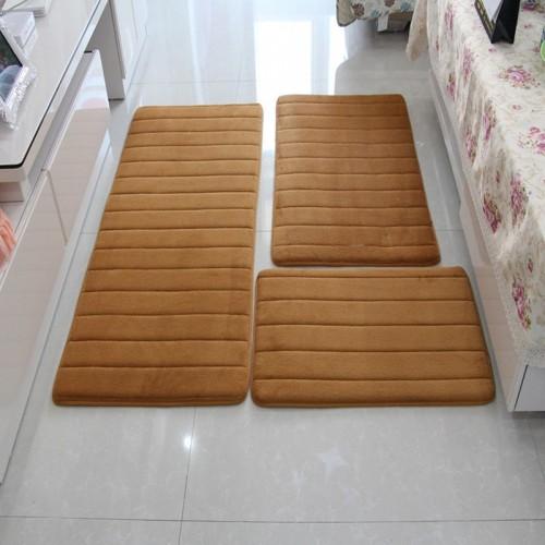 Memory Foam Bath Mat Rug Modern Floor Anti Silp Bathroom Rugs Carpet Mat Carpet