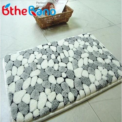 New Pattern coral bath mat rug pebble bathroom mat carpet absorbent bath mat carpet bathroom designer