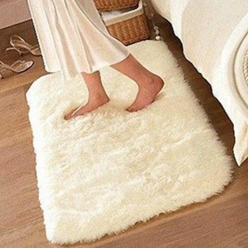 Non slip Mat Bathroom Floor Rugs Plush Memory Velvet Mats Dust Doormat Floor Rug Carpet Floor