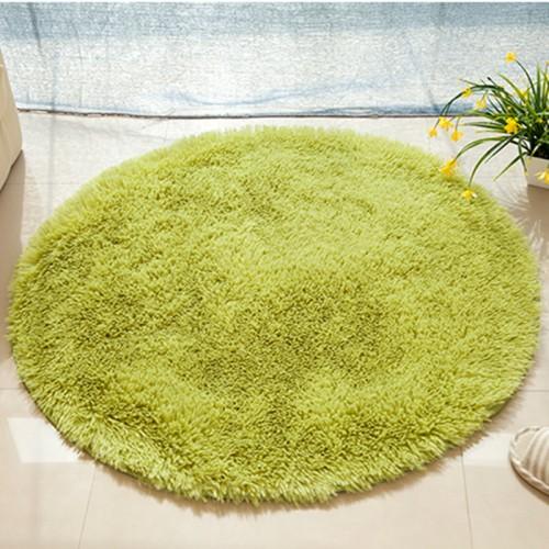 Solid Soft Bathroom Carpet Mat Rug Round 1 PCS Anti Slip Bath Mats Rug In The