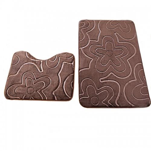 Washable Carpet Bath Shower Pad Mat Rug Cotton