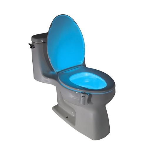 LED Toilet Light Sensor Motion Activated Glow Toilet Bowl Light Toilet Seat Night light Inside Bathroom