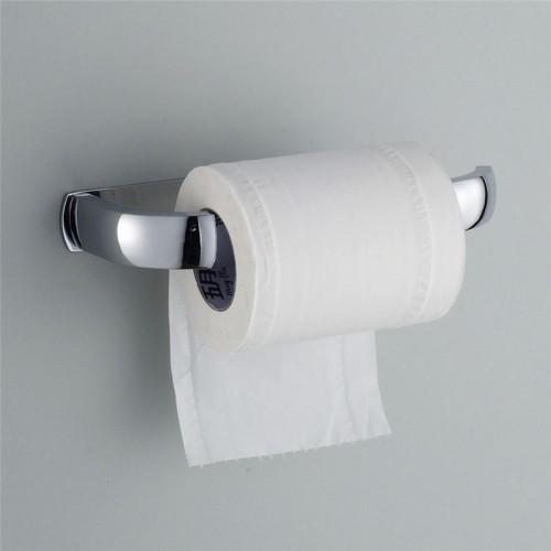 New Modern Stainless steel Wall Mounted Toilet Roll Paper Holder Bathroom Tissue Rack Chrome Finish