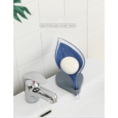 Non-slip Bathroom Soap Holder Leaf Shape Soap Box Creative Kitchen Soap Rack