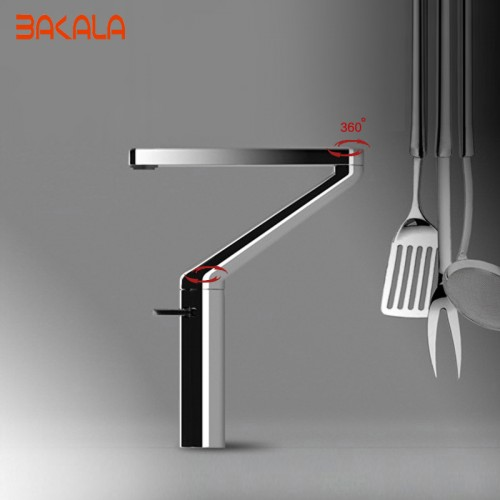 NEW kitchen faucet Design Brass single handle single hole hot and cold swivel mixer taps kitchen