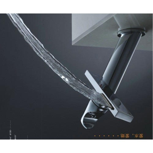 modern washbasin design Bathroom faucet mixer waterfall Hot and Cold Water taps