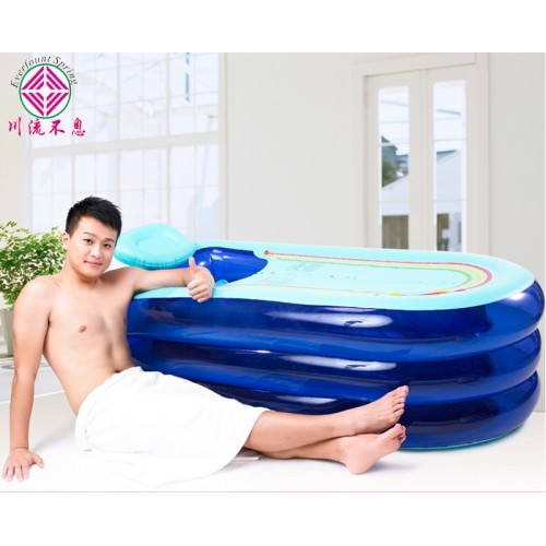 Inflatable Bathtub Adult Large Saults Box Folding Double Thickening Tub