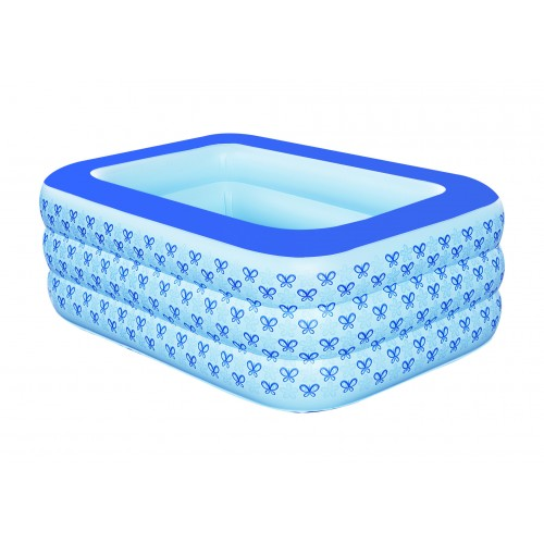 New family inflatable bathtub thickening insulation baby pool bath barrel washbasin plastic bucket folding bath barrel